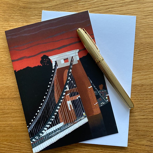 Greetings Card | Clifton Sunset