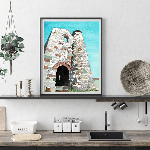 Limited Edition Artist Print | Tin Mine