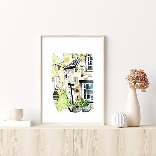 Limited Edition Artist Print | Barton Steps