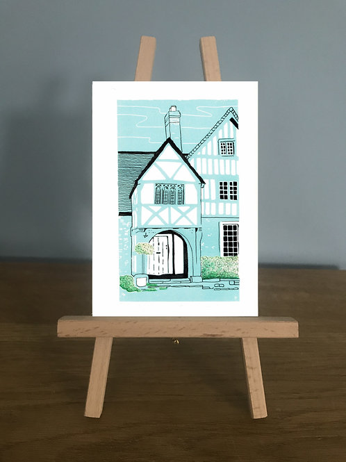 Lacock Cottage - Blank Greetings Card