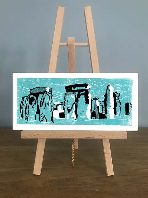 Stonehenge - Blank Greetings Card