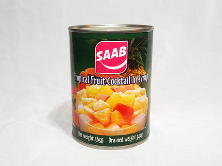 SAAB Tropical Fruit Cocktail