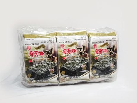 Ock Dong Ja Roasted Seaweed, Sesame Oil (9-pk Outer Pack)