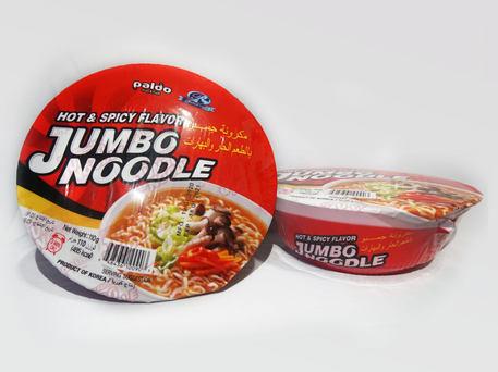 PALDO Jumbo Noodle Hot & Spicy Flavor