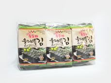 Ock Dong Ja Roasted Seaweed, Olive Oil (9-pk Outer Pack)
