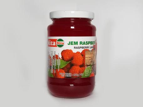 NITA Glass Bottle Jam, Raspberry