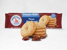 Sugar Free Pecan Shortbread