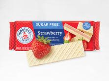 Sugar Free Strawberry Wafers