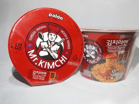 PALDO MR. KIMCHI Kimchi Ramen King Cup