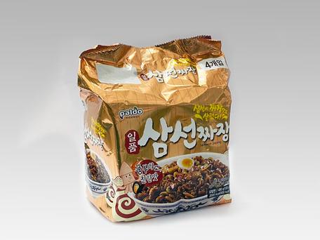 PALDO SamSeon Jjajang Seafood (4-pk Outer Pack)