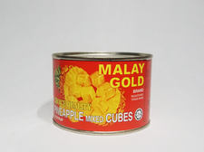 MALAY GOLD Pineapple Cubes in Syrup