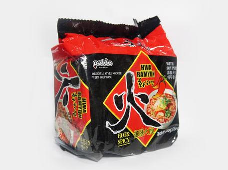 PALDO Hot & Spicy Hwa Ramyun (5-pk Outer Pack)