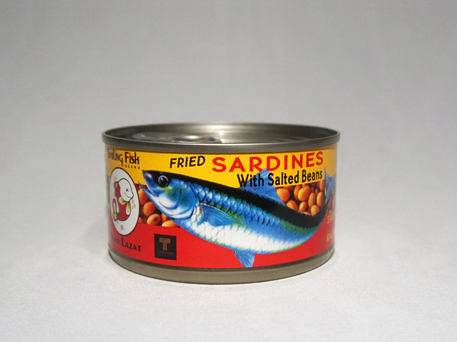 Smiling Fish Fried Sardine With Salted Bean