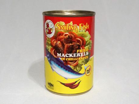 Smiling Fish Fried Mackerels In Chilli Sauce