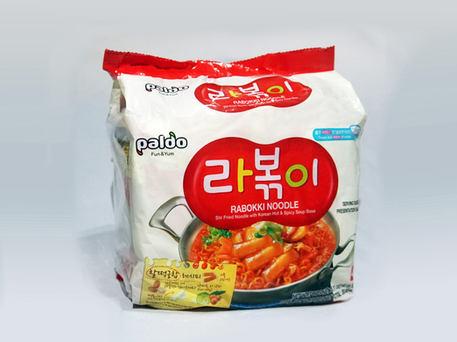 PALDO Rabokki Noodle (4-pk Outer Pack)