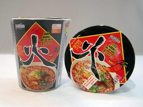 PALDO Hwa Cup Noodle, Hot & Spicy Flavour