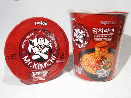 PALDO MR. KIMCHI Kimchi Ramen Small Cup