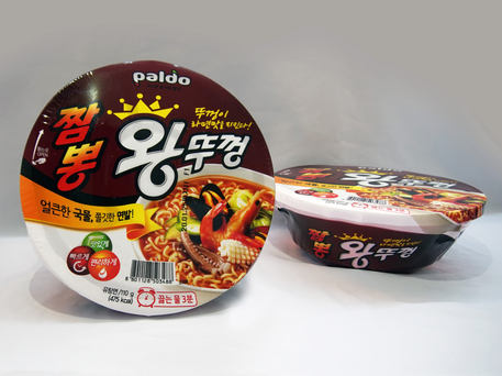 PALDO Seafood & Spicy King Bowl Noodle