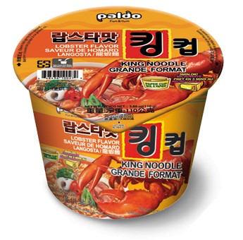 PALDO King Cup Seafood Noodles Lobster Flavor