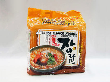 PALDO Jang Ramyun Soy Flavour Noodle (5-pk Outer Pack)