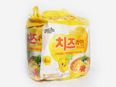 PALDO Cheese Ramyun  (4-pk Outer Pack)