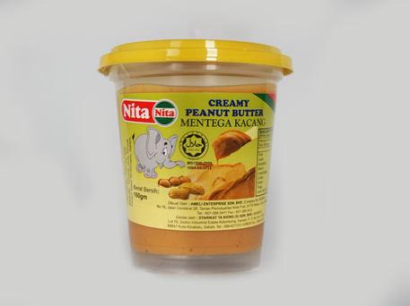 NITA Plastic Bottle, Creamy Peanut Butter