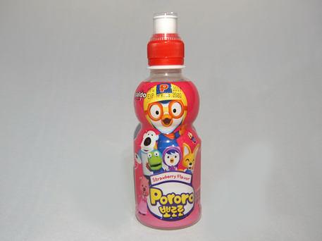 PALDO PORORO Baby Juice, Strawberry (PET)