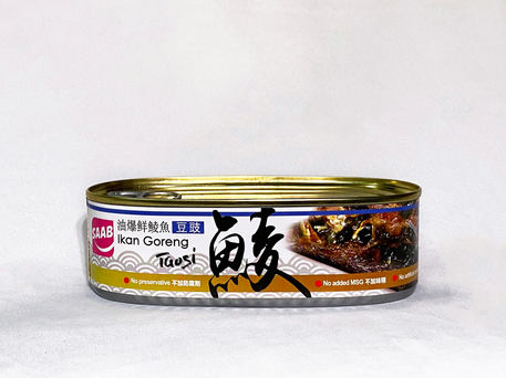 SAAB Canned Fried Dace With Salted Black Beans