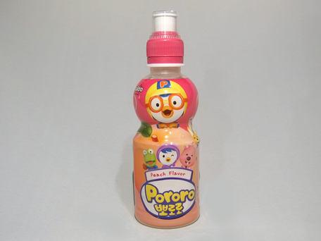 PALDO PORORO Baby Juice, Peach (PET)