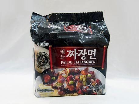 PALDO ILPOOM Jajangmen, Blackbean Flavour (4-pk Outer Pack)