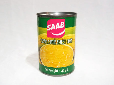 SAAB Canned Cream Style Sweet Corn