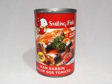 Smiling Fish Sardine Tomato Intense Flavour