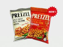 Samjin Pretzel Spicy Beef
