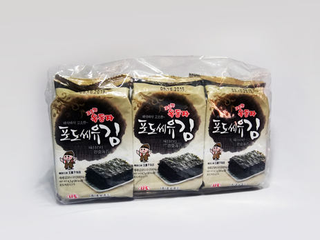 Ock Dong Ja Roasted Seaweed, Grape Seed Oil (9-pk Outer Pack)