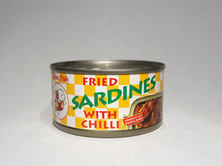Smiling Fish Fried Sardine With Chilli