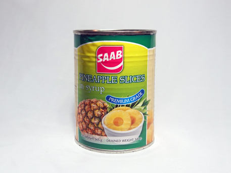 SAAB Pineapple Slices In Syrup