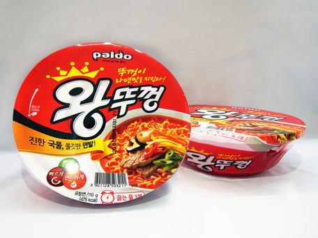 PALDO Hot & Spicy King Bowl Noodle