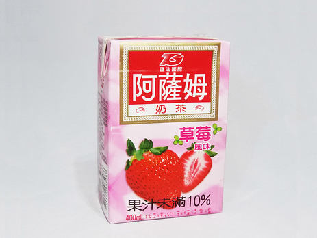 T. Grand ASSAM Milk Tea, Strawberry