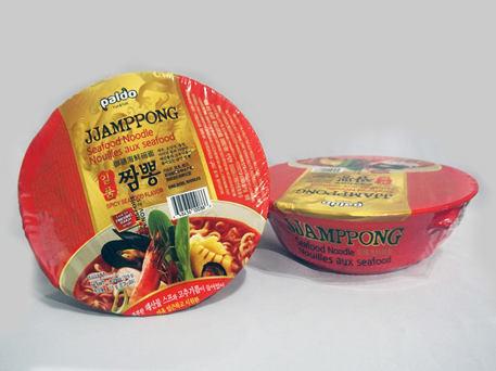 PALDO King Bowl Noodles, Seafood Jjamppong