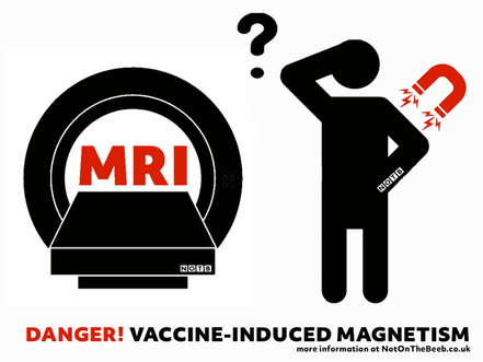 URGENT WARNING - MRIs and VACCINE-INDUCED MAGNETISM