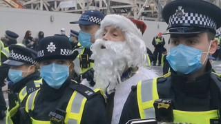 Santa Claus busted