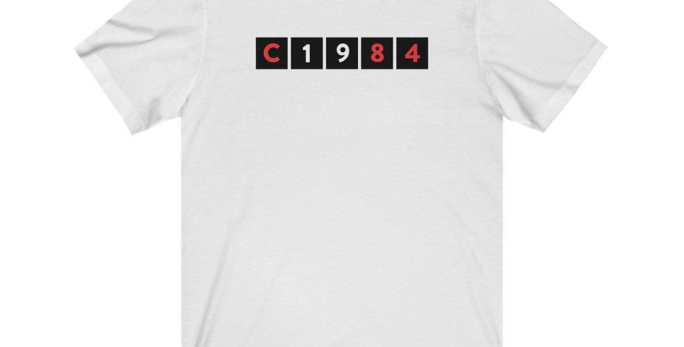 C1984 - Unisex Jersey Short Sleeve Tee