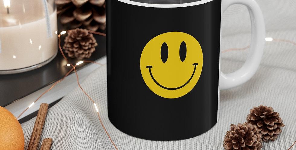Mug of smiles - black