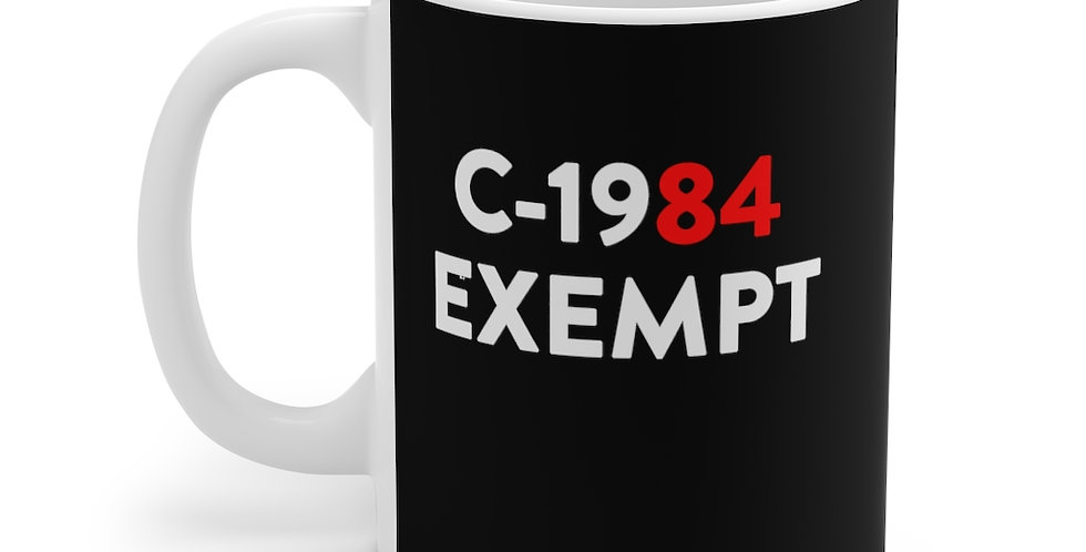 1984 EXEMPT  - Black Mug