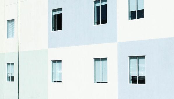 Tri-couleur du bâtiment