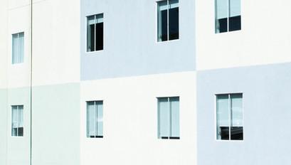 Tri-Colored Building