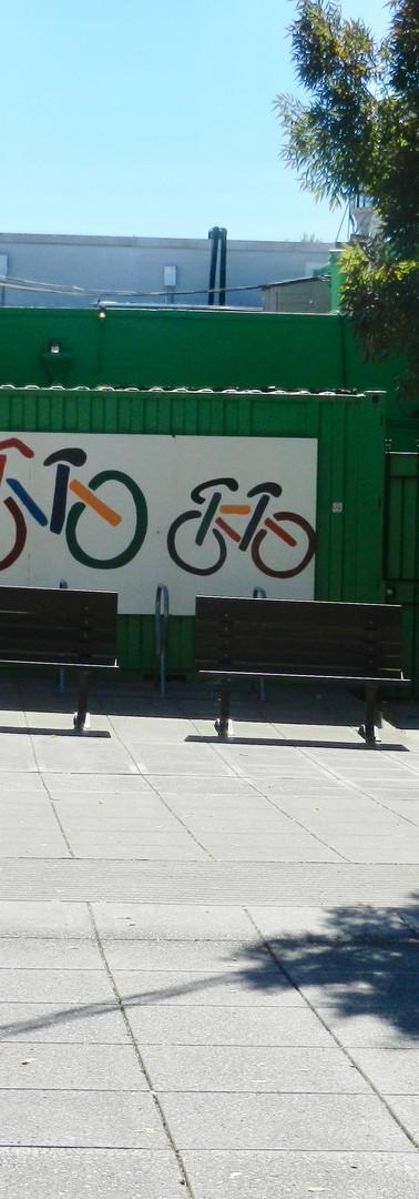 Bike Racks and Plaza Seating