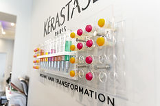 Hairdressing product colour chart