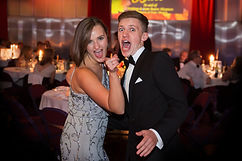 Couple at black tie ball event dance the night away in London