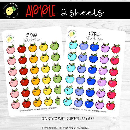 Apple Sticker Sheet